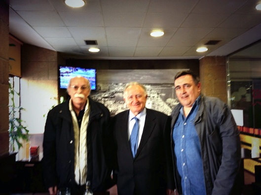 Con Geluco e Alonso Montero